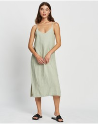Assembly Label - Linen Slip Dress