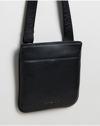 Emporio Armani - Cross-Body Vitello Bottalato Messenger Bag