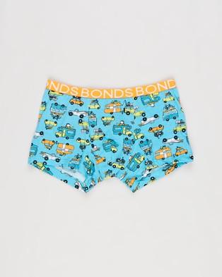 Bonds Kids 3 Pack Yardage Trunks   Kids Teens - Underwear & Socks (Print)