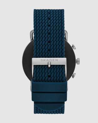 Skagen Falster 3 Blue Smartwatch - Fitness Trackers (Blue)