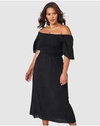 Sunday In The City - Ex-Factor Maxi Dress