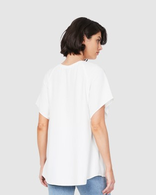 Soon Maternity Elly tunic - T-Shirts & Singlets (white)