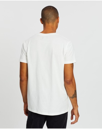Rolla's Rainbow Serpent Tee White