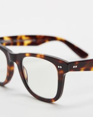 Caddis - Porgy Backstage Blue Light Lenses Optical (Turtle)