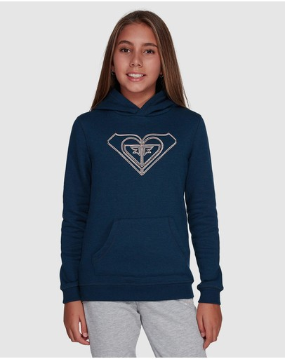 Girls 8-14 Chica Del Sur Fleece Hoodie