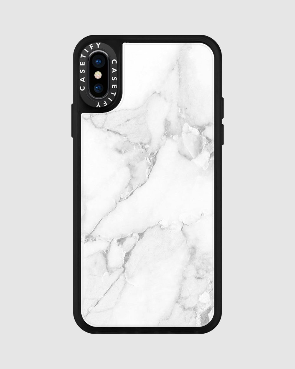 3724ebde27 Material Marble Case for iPhone XS/ iPhone X - Minimalist by Casetify Online  | THE ICONIC | Australia