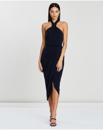 Shona Joy - Knot Draped Dress