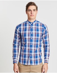 Tommy Hilfiger - Slim Poplin Check Shirt