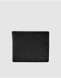 Fossil - Camp Black Wallets