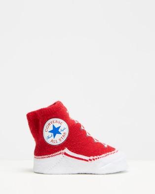 Converse Chuck Bootie Set   Babies - Socks & Tights (Vintage Grey Heather)