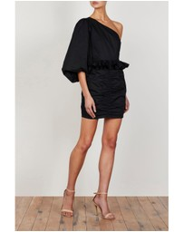 Shona Joy - One Shoulder Ruched Mini Dress