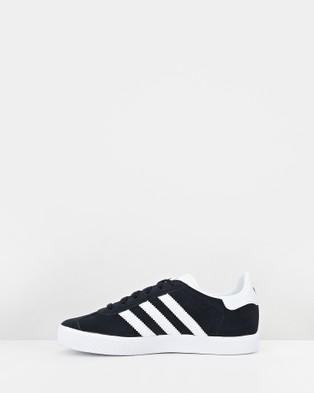 adidas Originals Gazelle Grade School - Lifestyle Shoes (Black/White)