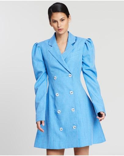 Maggie Marilyn Leap Of Faith Blazer Dress Sky Blue