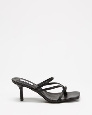 Dazie Tremble Heels - Heels (Black Smooth)