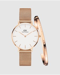 Daniel Wellington - Gift Set - Petite Melrose 32mm + Bracelet Small