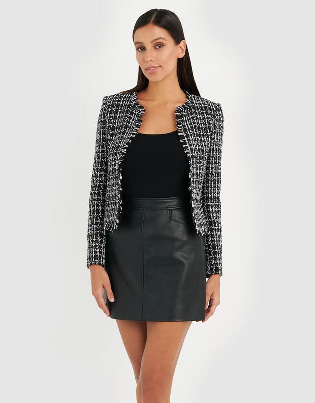 Women Mariyah Tweed Jacket