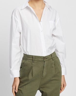 Ceres Life The Daily Shirt - Tops (White)