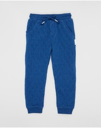 Purebaby - Quilted Track Pants - Kids