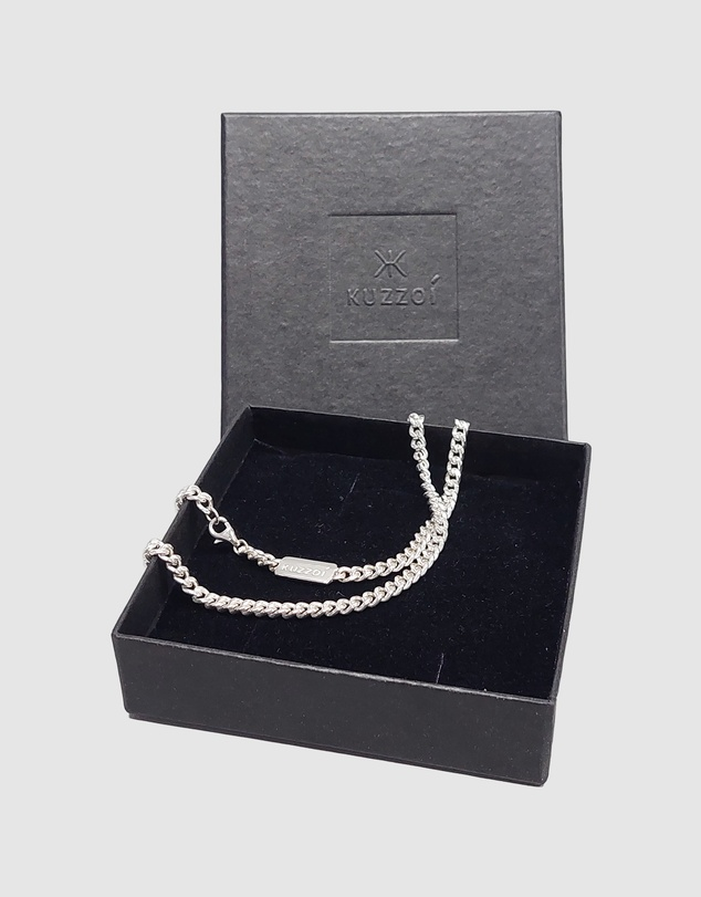 Kuzzoi - Necklace Chain Basic Trend in 925 Sterling Silver