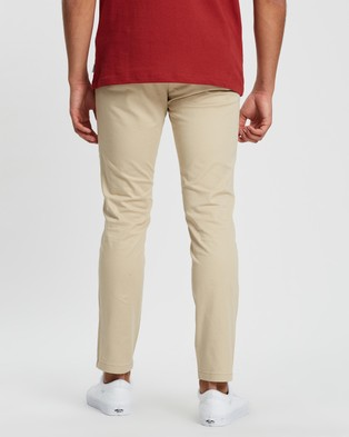 Jack & Jones Marco Bowie SA Slim Fit Chinos - Pants (White Pepper)