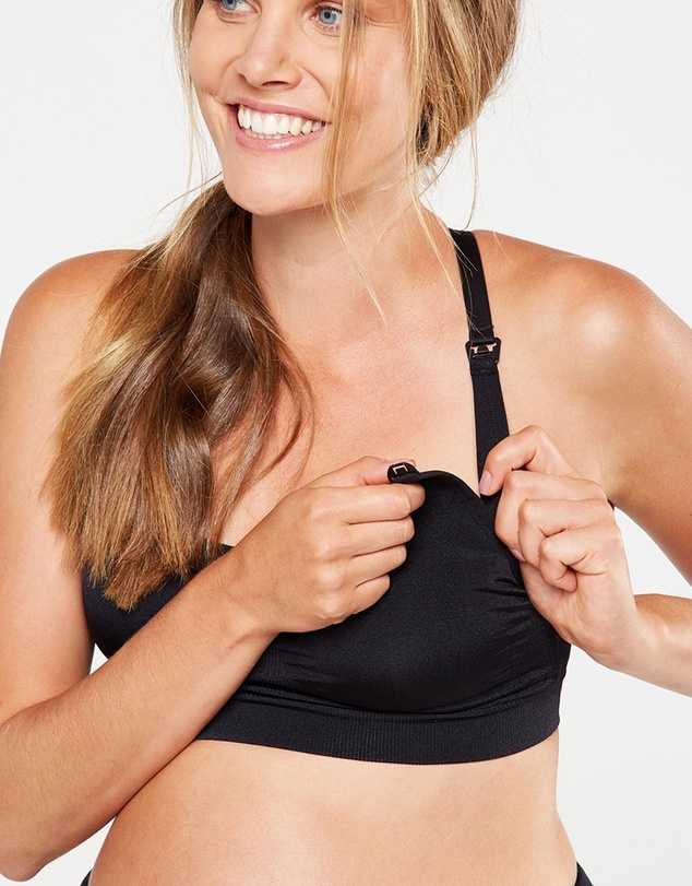Cotton On Body Active - Maternity Seamfree Active Crop