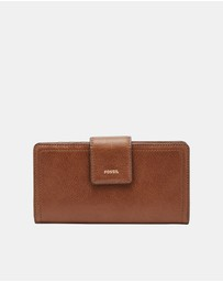 Fossil - Logan Brown Tab Clutch