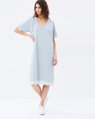 Staple the Label – Dazed Dress – Dresses (Grey Marle)