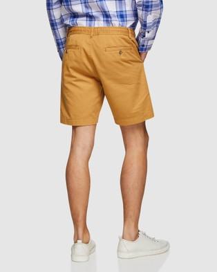 Oxford Freddy Chino Shorts - Shorts (Mustard)
