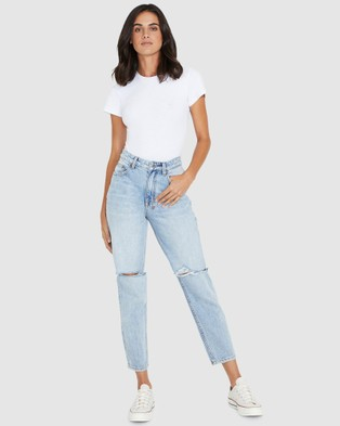Ksubi Pointer Jeans Karma Slash - Jeans (DENIM)