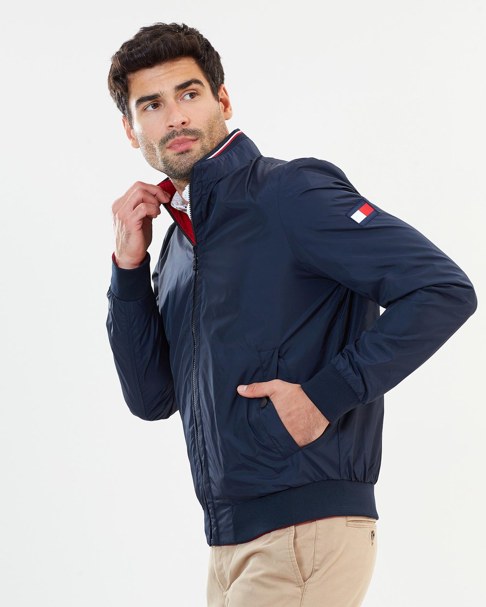 9cacfb74899 Reversible Nylon Bomber Jacket by Tommy Hilfiger Online