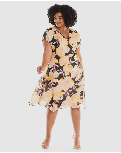 Estelle - Sherbet Garden Dress