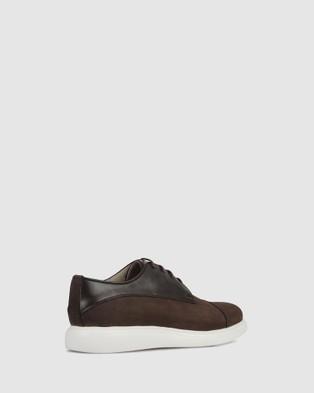 Brando - Kip Lace ups Casual Shoes (BROWN-201)