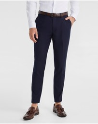 yd. - Marina Stretch Skinny Dress Pant