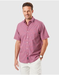 Gazman - Easy Care Check Short Sleeve Shirt
