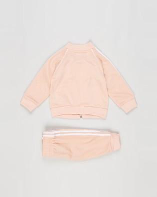 adidas Originals Adicolor SST Tracksuit   Babies - Sweatpants (Glow Pink & White)