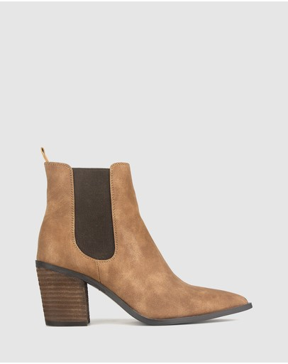 Betts - Bounty Western Ankle Boots