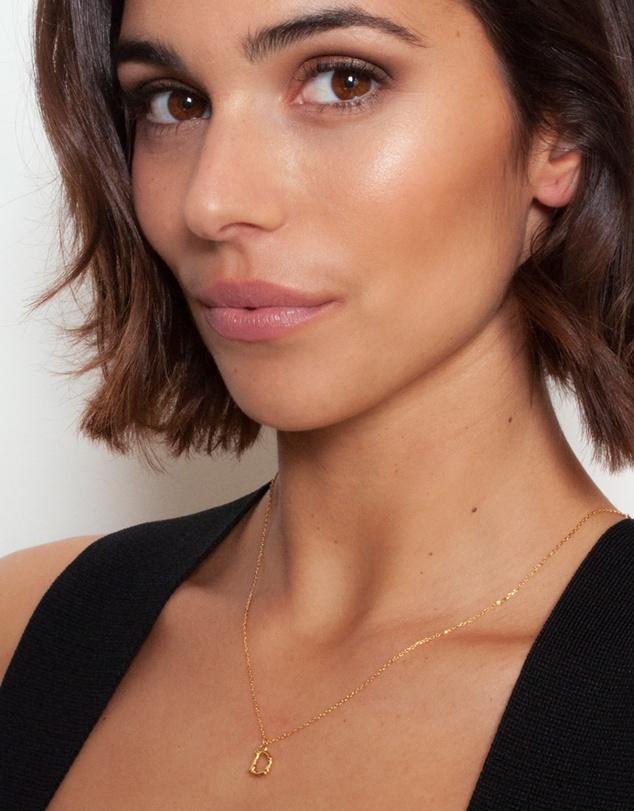 Women Letter D Necklace