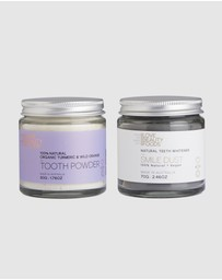 Love Beauty Foods - Turmeric Toothpowder & Teeth Whitener Pack