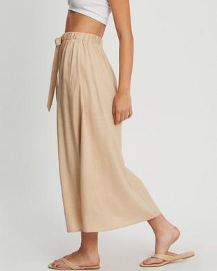 Savel Harper Maxi Skirt - Skirts (Tan)