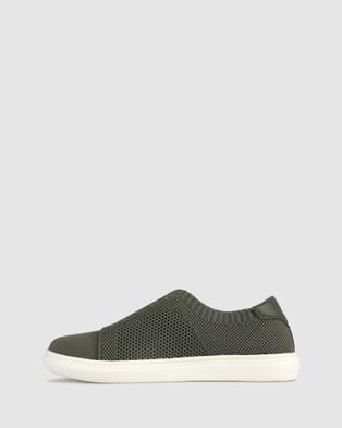 Zeroe Shuri Fly Knit Casual Shoes - Casual Shoes (Khaki)