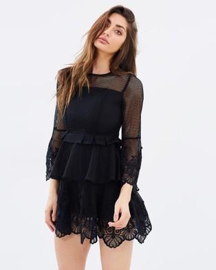 DELPHINE – Rebellion Mini Dress Black