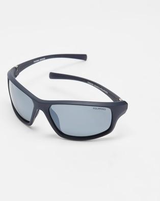 Cancer Council Tacoma - Sunglasses (Matte Navy)