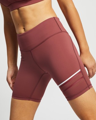 Lilybod Lewis Shorts - 1/2 Tights (Apple Butter)