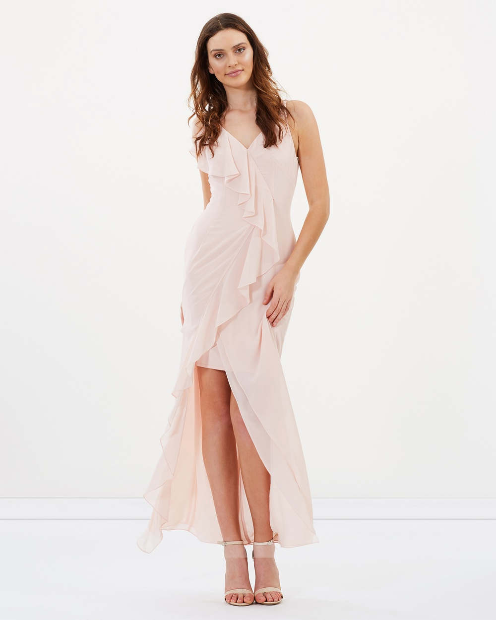 Alabaster The Label Willow Dress Bridesmaid Dresses Light Blush Pink Willow Dress