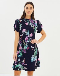 Oasis - Illustrator Print Dress