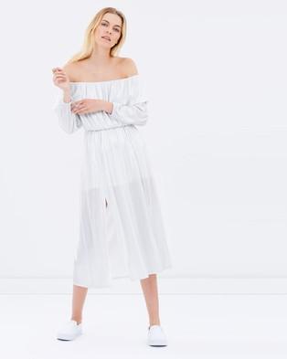 Steele – Glimmer Dress – Dresses (Silver)
