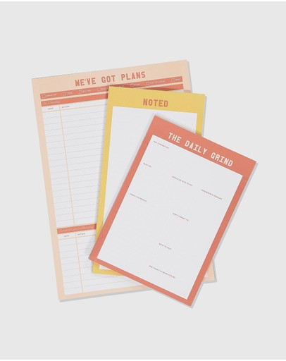 Typo - 3-Pack Notepad