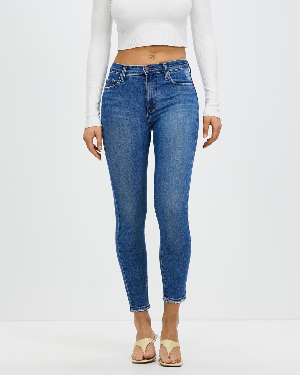 Nobody Denim Cult Skinny Ankle Jeans Crop Cult Australia