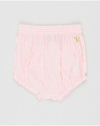 Rock Your Baby - Gingham Shorts - Babies
