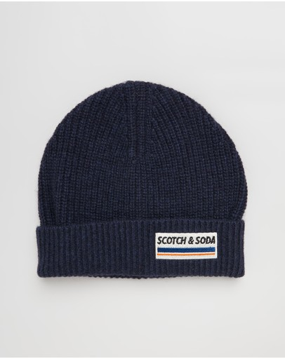 Scotch & Soda - Rib Knit Beanie